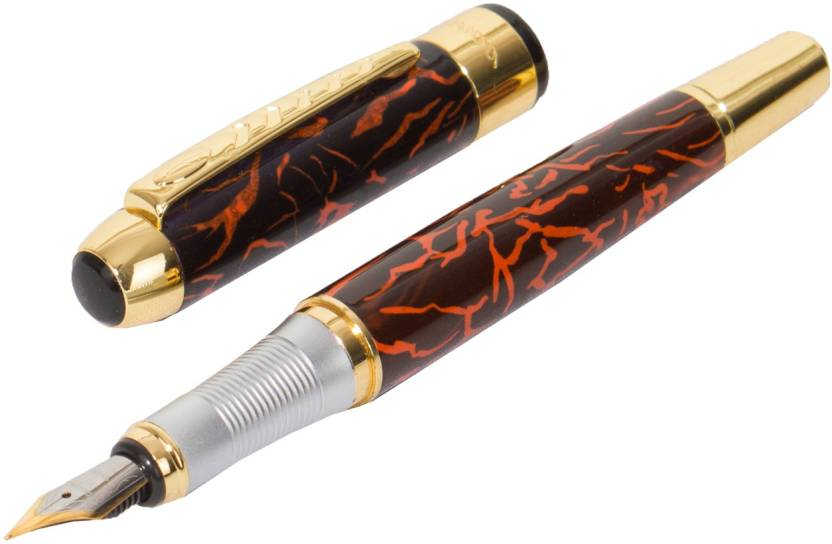 Auteur Auteur Jinhao 250 Heavy Signature Collection Flame of Fire Fountain  Pen