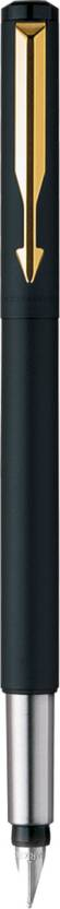 Parker Vector Matte Black GT Fountain Pen