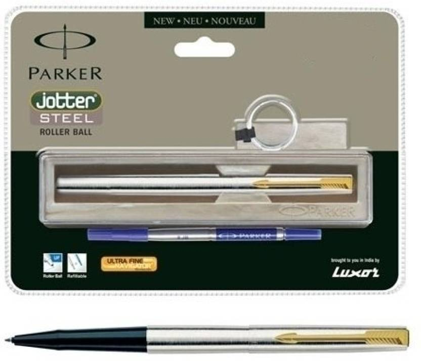 Parker Jotter Stainless Steel GT Roller Ball Pen