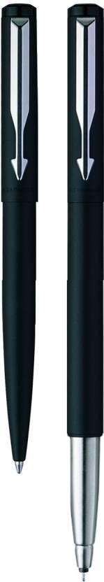 Parker Vector Matte Black CT (RB) (M-1) Pen Gift Set