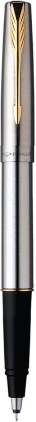 Parker Frontier Stainless Steel GT (M-3) Roller Ball Pen