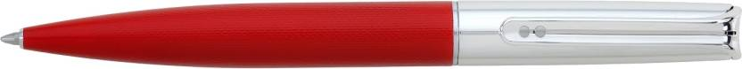 Inoxcrom Naked Silver Selection Red E-Premium Ball Pen