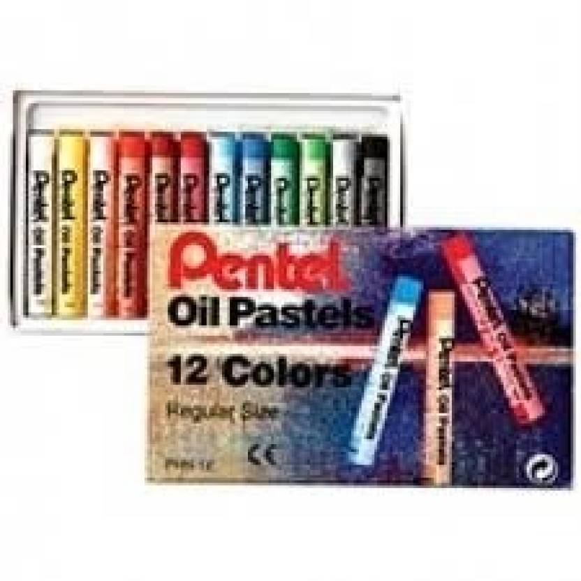 Pentel Lancelot (With Pentel oil pastels free worth Rs 100 ) Black Ball Pen