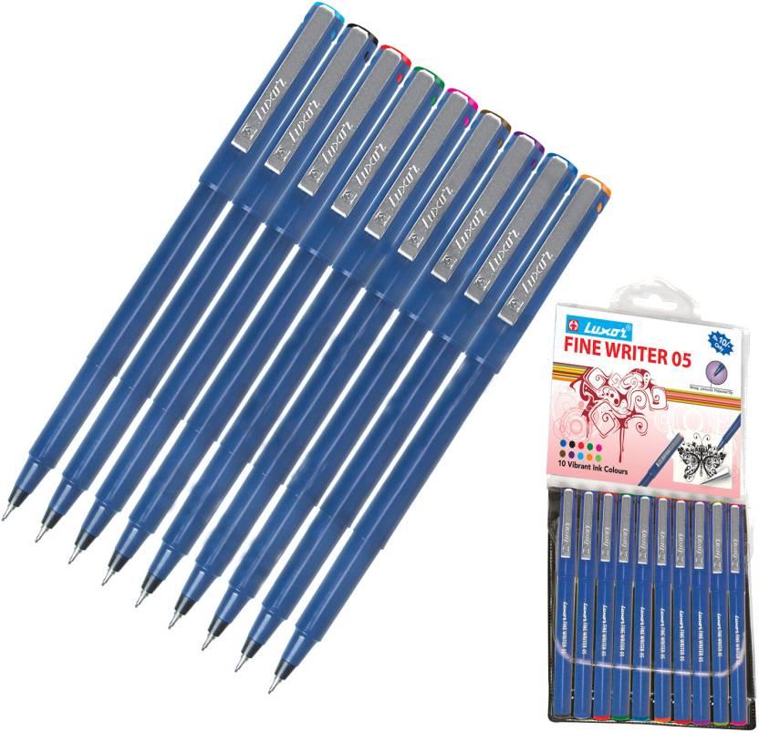 Luxor Assorted Finewriter 05 Fineliner Pen