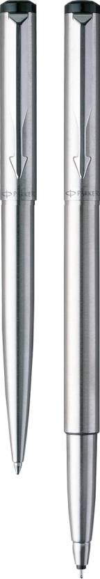 Parker Vector Stainless Steel CT (RB) (M-2) Pen Gift Set