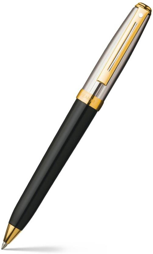 Sheaffer Prelude Black Onyx Laque 22K Gold Trim Ball Pen