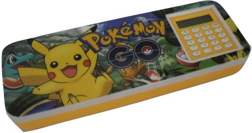 Pokemon Pencil Metal Plastic Case