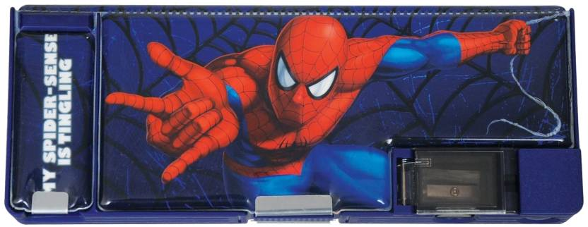 Warner Bros. Spiderman Spiderman Art Plastic Pencil Box
