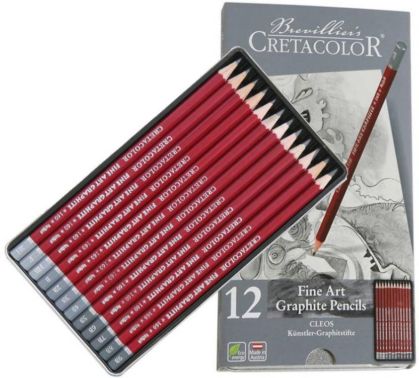 Cretacolor Cleos Graphite Pencil