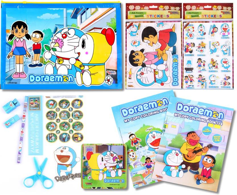 Sticker Bazaar Doraemon Stationery (Gifts) Set Combo-308 Pencil