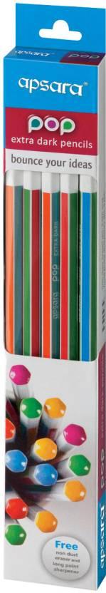 Apsara POP Extra Dark Pencils