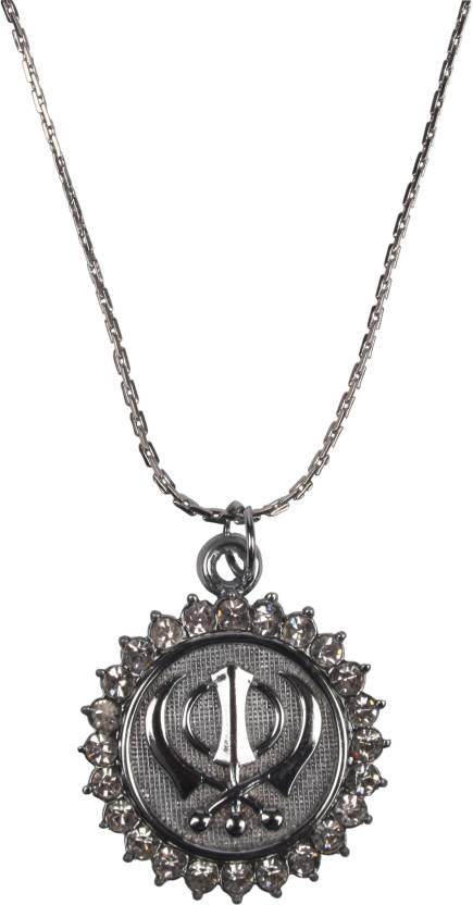 Jawahraat Interfaith With Religious Sikh Symbol Khanda Metal