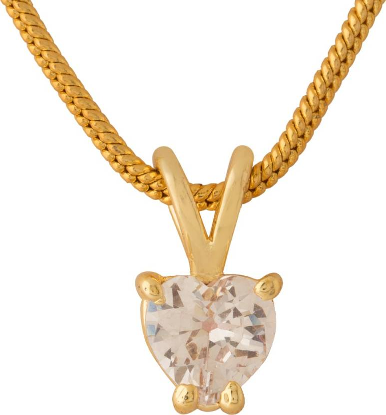 682cb7b16b92d Voylla Gold-plated Cubic Zirconia Alloy Pendant Price in India - Buy Voylla  Gold-plated Cubic Zirconia Alloy Pendant Online at Best Prices in India ...