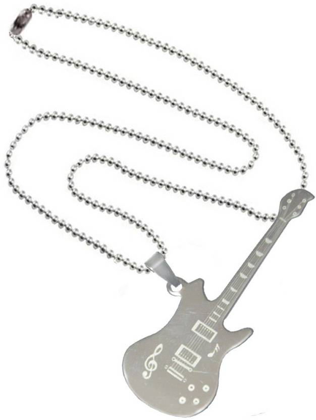 Men Style Rock Music Guitar With Symbols Spn08005 Stainless Steel