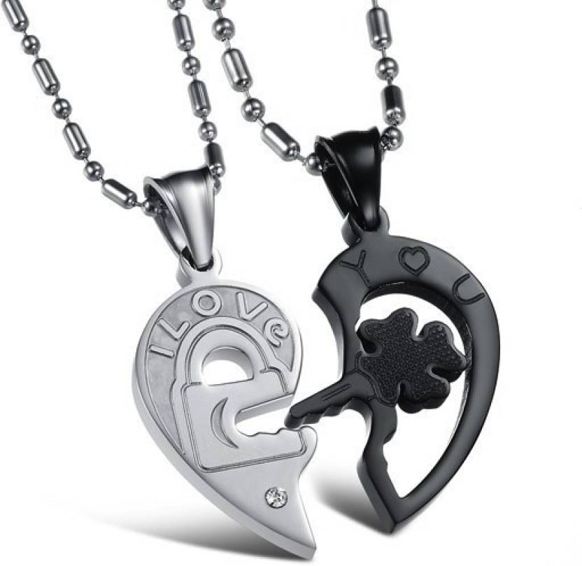 key in nickel sterling heart lock free shop online silver and jewellery piercing pendant