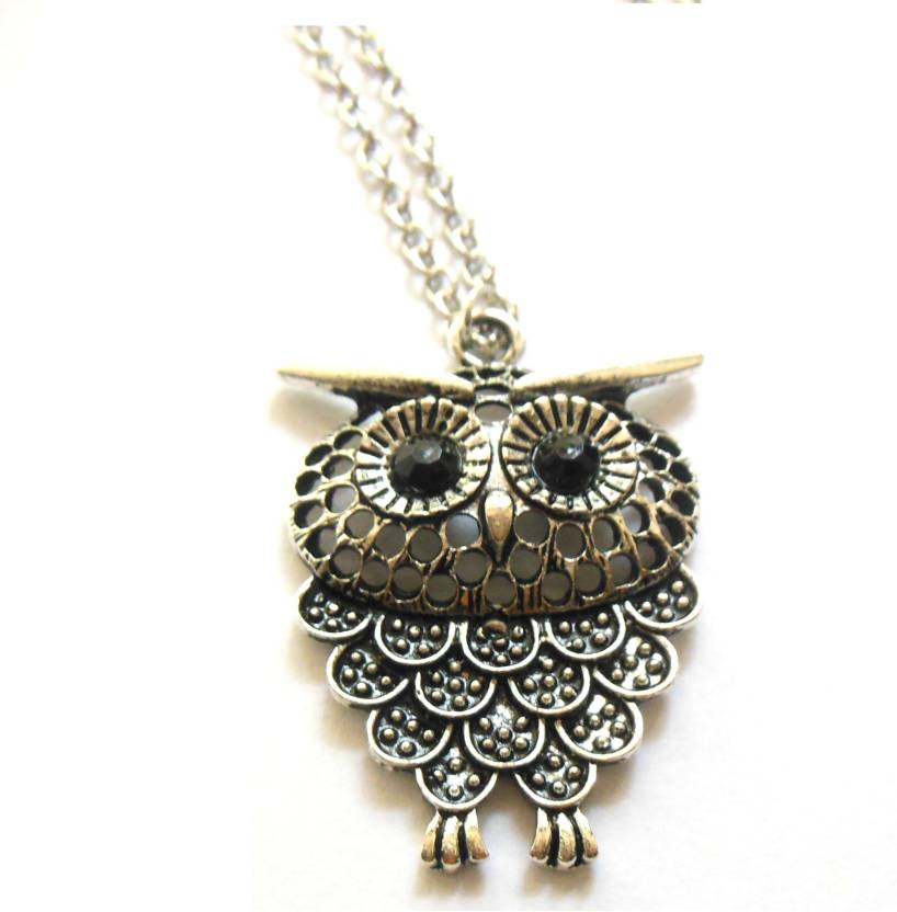 Bohocraft Bohemian Silver Owl Long Sweater Chain Metal Pendant Price in  India - Buy Bohocraft Bohemian Silver Owl Long Sweater Chain Metal Pendant  Online at ... 00853ac70