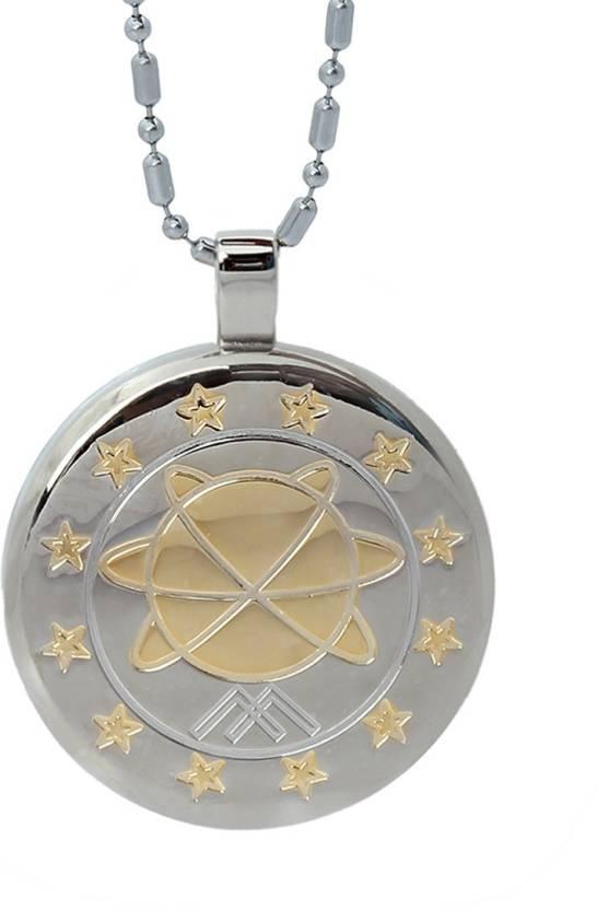 Aarogyam energy jewellery magnetic mst gold plated silver stainless aarogyam energy jewellery magnetic mst gold plated silver stainless steel pendant aloadofball Images