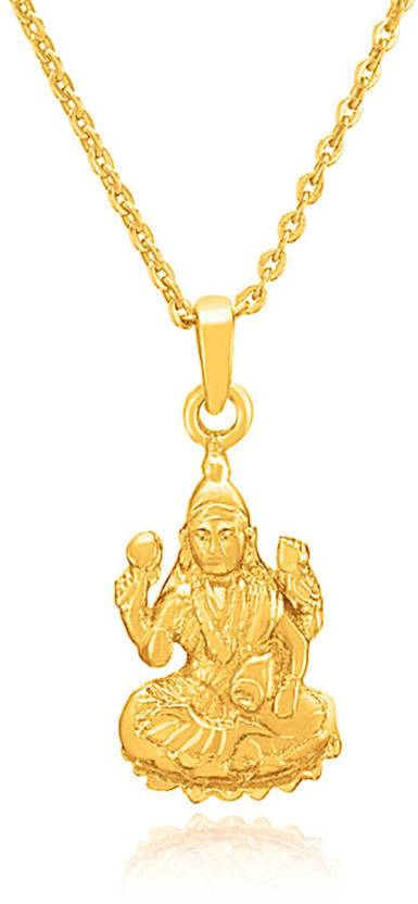 mahi devi laxmi maa gold plated brass alloy pendant price in india