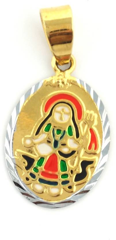 jh jewellery khodiyar maa gold plated brass pendant price in india