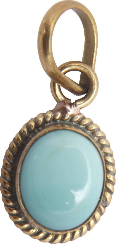 Jaipur Gems And Handicrafts Certified Natural Turquoise Firoza