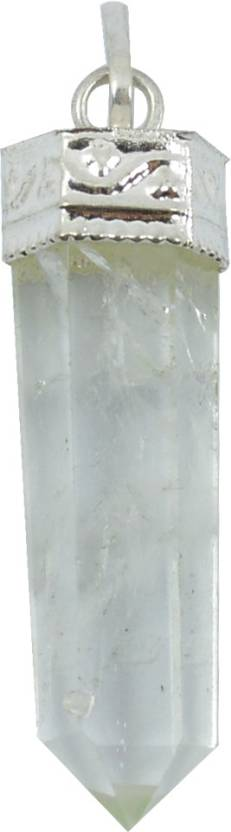 Reiki Crystal Products Clear Quartz Crystal Pencil Pendant Quartz Stone  Pendant