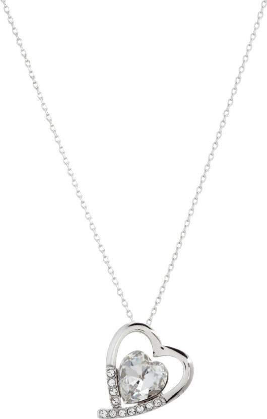 eba17f96a623 Radiant Jewels RSAP1006 Rhodium Swarovski Crystal Alloy Pendant Price in  India - Buy Radiant Jewels RSAP1006 Rhodium Swarovski Crystal Alloy Pendant  Online ...