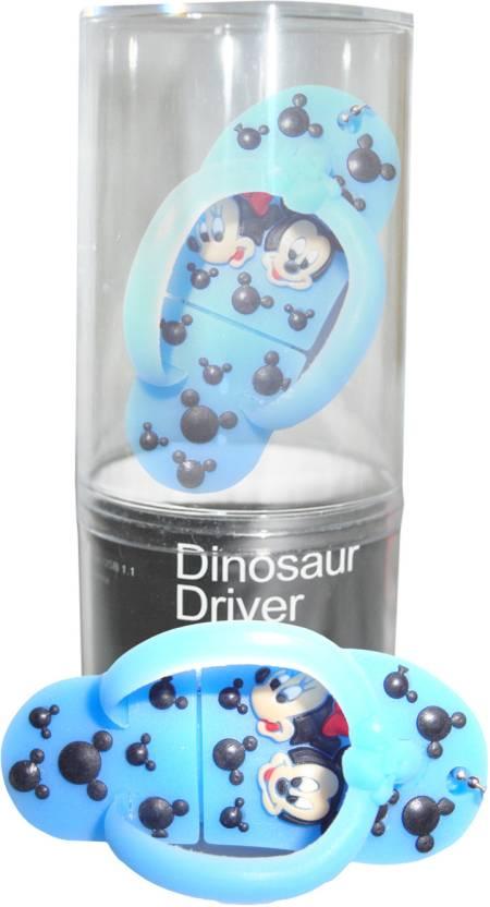Dinosaur Drivers Chappal Blue 16 GB Pen Drive