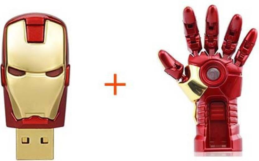 Sam Ironman Hand + Head 16 GB Pen Drive