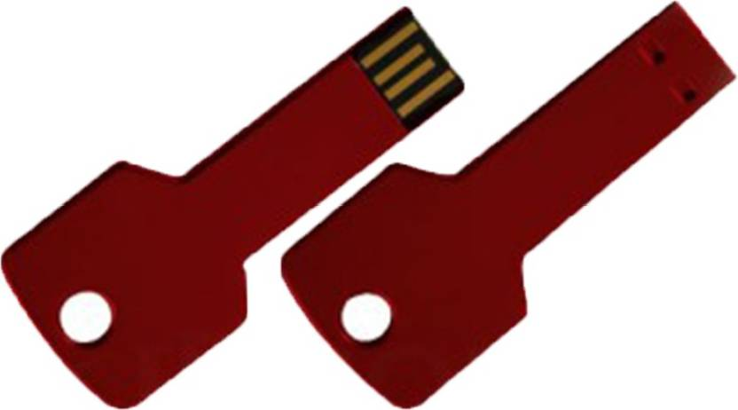 The Fappy Store Red key 4 GB Pen Drive