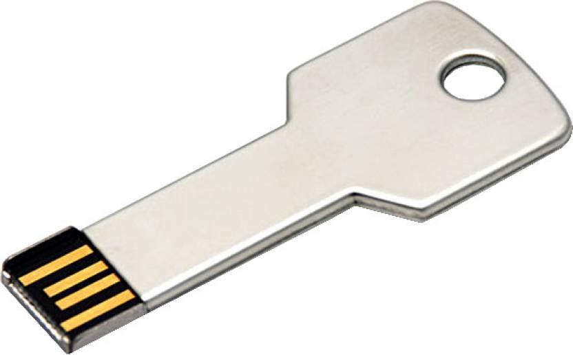 2f741153813 Microware Metal Key Shape 16 GB Pen Drive - Microware   Flipkart.com