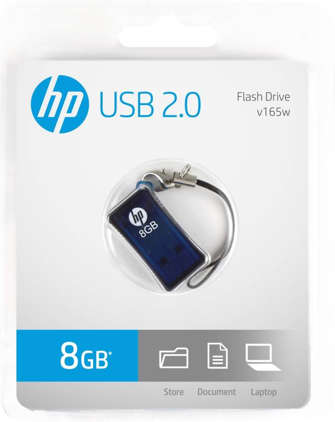 HP V-165 W - 8 GB Utility Pendrive