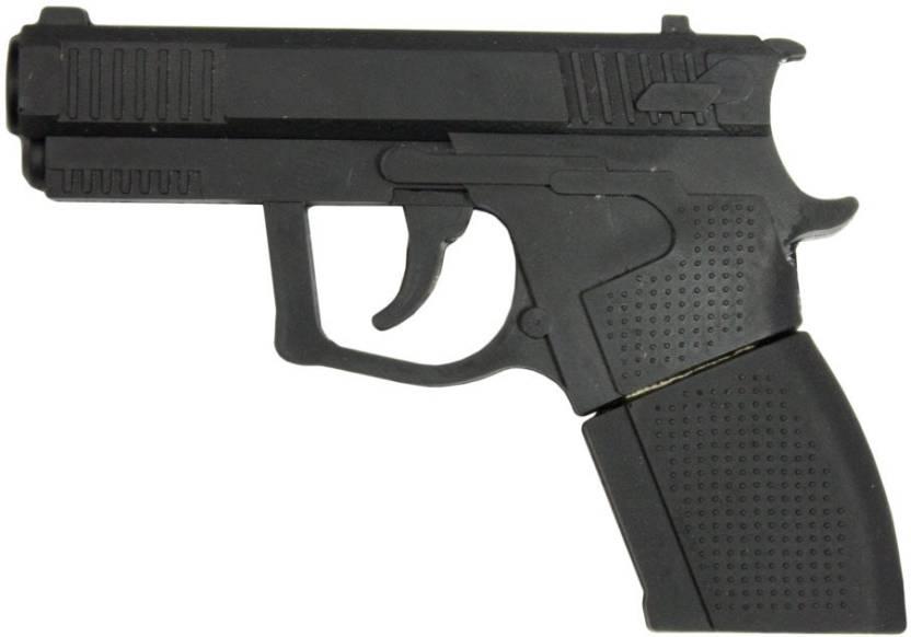 Zeztee Gun Shape 16  GB Pen Drive Multicolor