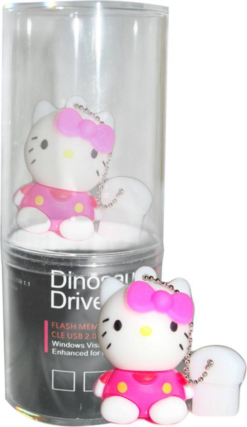 Dinosaur Drivers Kitty 8 GB  Pen Drive (Multicolor)