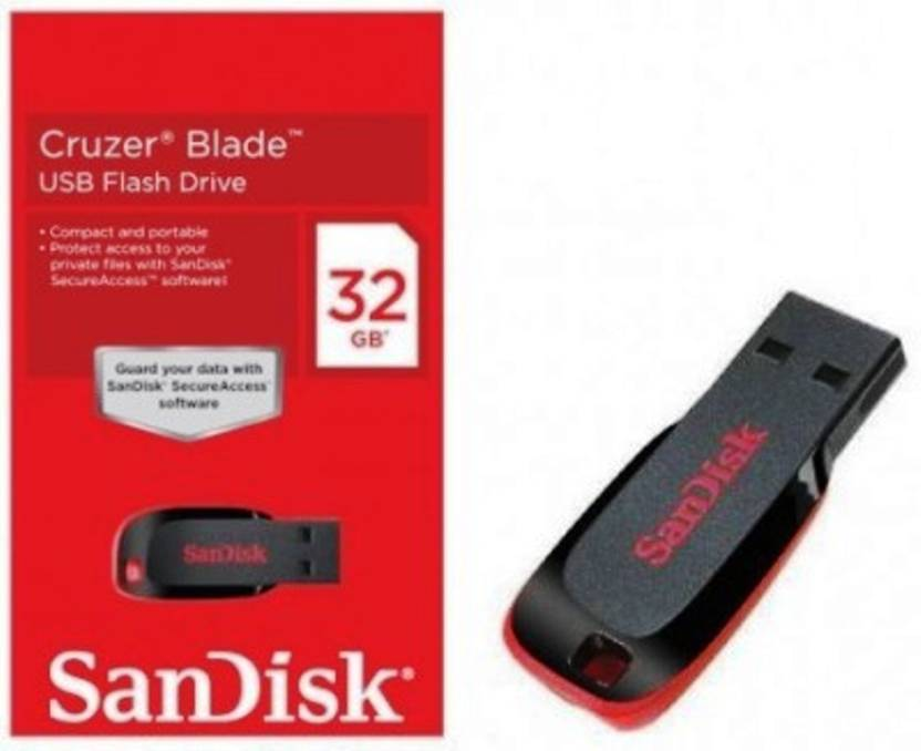 SanDisk (PACK OF 2) 32 GB Pen Drive