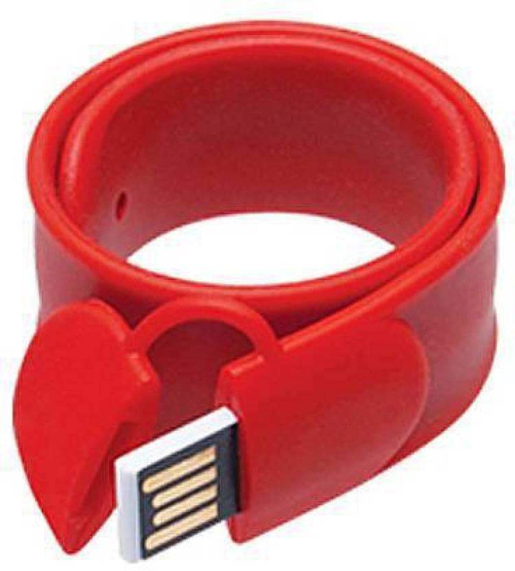 E Wearable Slap Bracelet Wristband Usb Flash Drive 16 Gb Pen