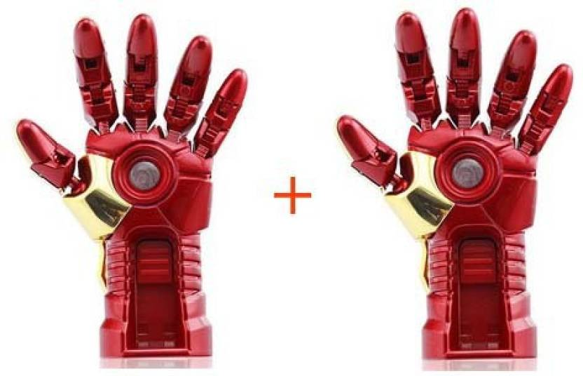 SAM Iron Man Hand (Pack of 2) 16 GB Pen Drive
