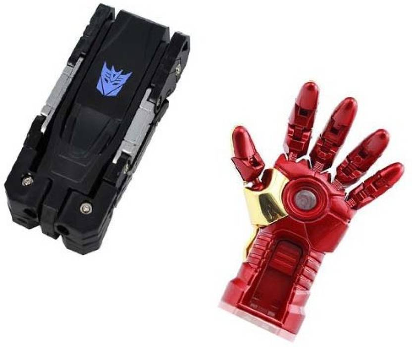 Sam Transformer-Iron Man Hand 16 GB Pen Drive