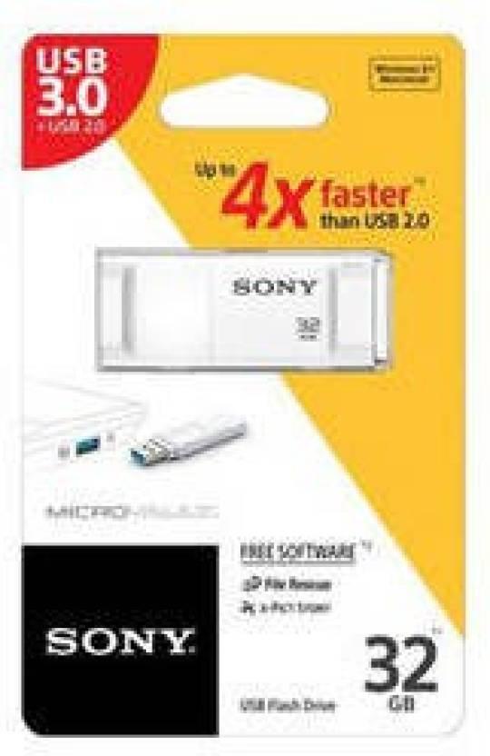 Sony USM32X/W 32 GB Pen Drive