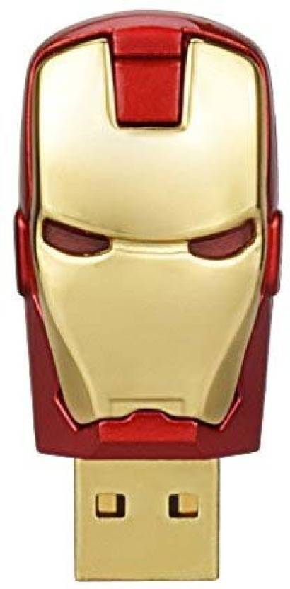 Sam Iron Man Head 16 GB Pen Drive