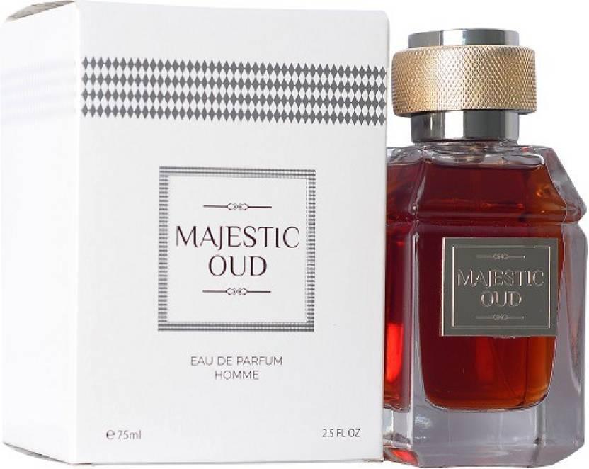 Buy Majestic Oud Luxury Fregrasnces Eau De Parfum 75 Ml Online In