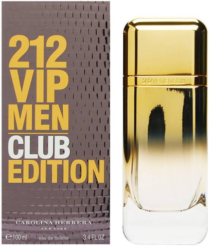 26eb7f10fd824 Carolina Herrera 212 VIP Men Club Edition Eau de Toilette - 100 ml (For Men)