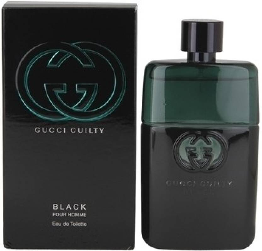 b51a92eaa8 Buy GUCCI Guilty Black EDT - 90 ml Online In India | Flipkart.com