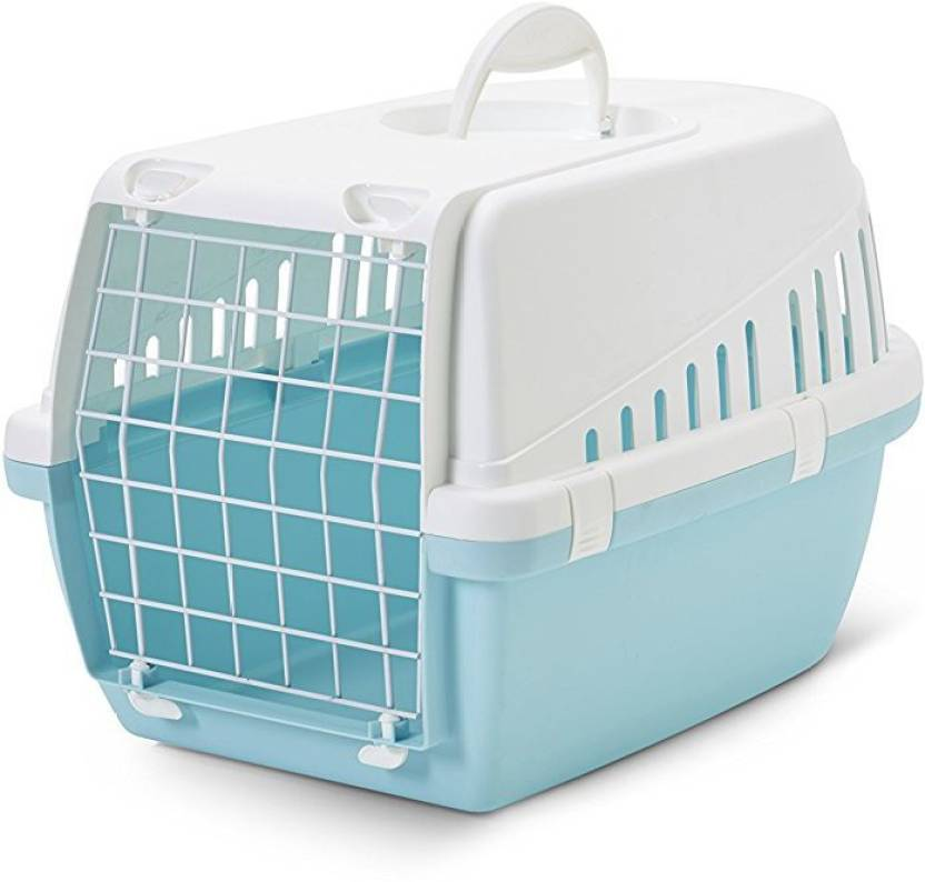 Savic Trotter Retro Blue Basket Pet Carrier Price in India - Buy ...