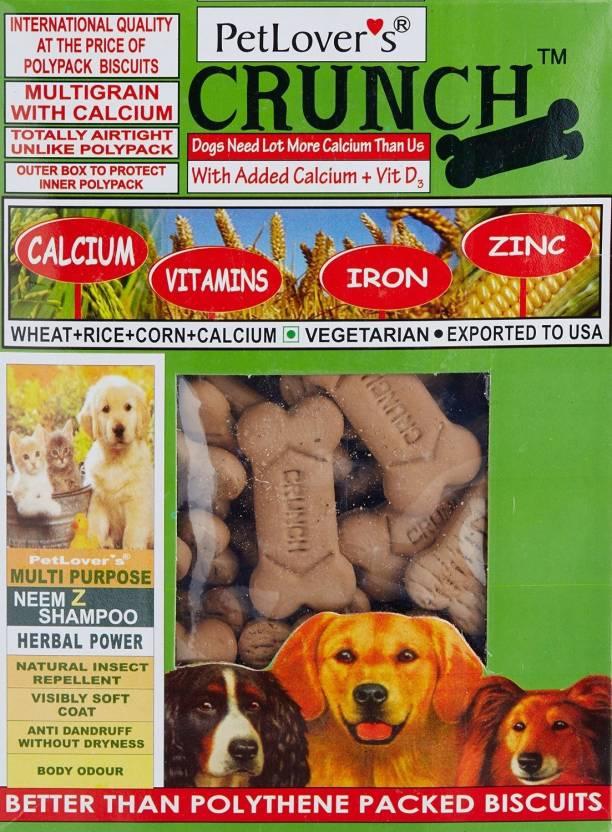 Pet Lovers Crunch Veg (Pvc) 1 kg Dog Food