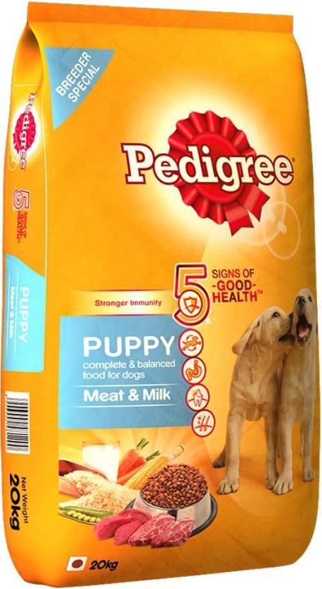 Pedigree Puppy Meat, Milk Dog Food