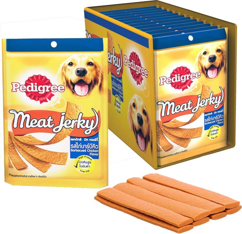 Pedigree Dog Treats Meat Jerky Stix Barbecue, Chicken Dog Food