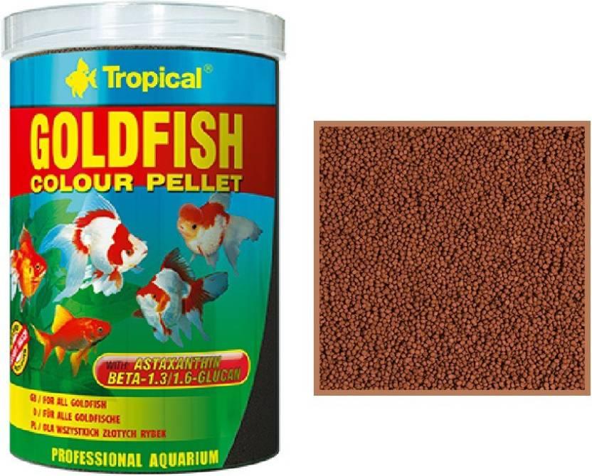 Tropical Goldfish Colour Pellet 360g 1000ml For All Goldfish 1000
