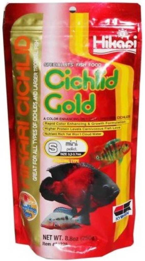 Hikari Cichlid Gold Mini Pellet 250g Fish 250 G Dry Fish Food Price