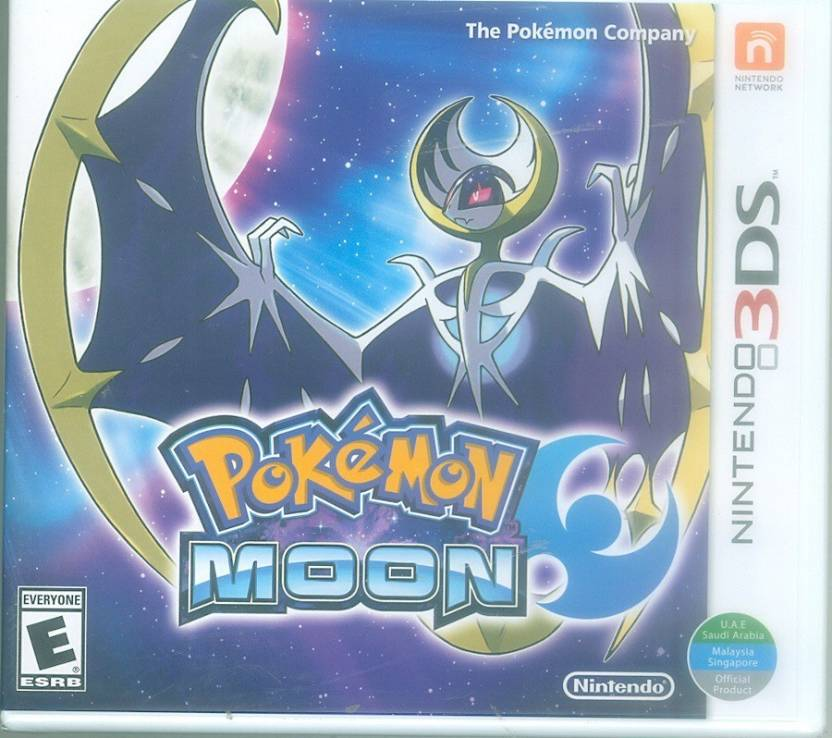 nintendo ds pokemon moon