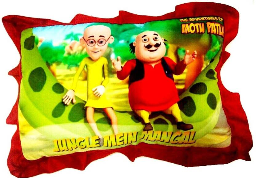 AayKayEnterprises Motu Patlu Kids Pillow Bed/Sleeping Pillow
